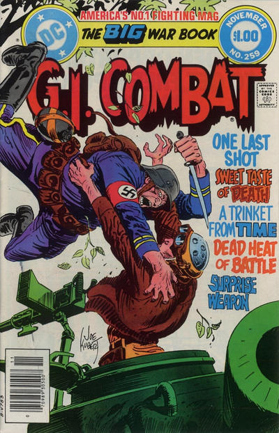 Cover for G.I. Combat (DC, 1957 series) #259 [Direct-Sales]