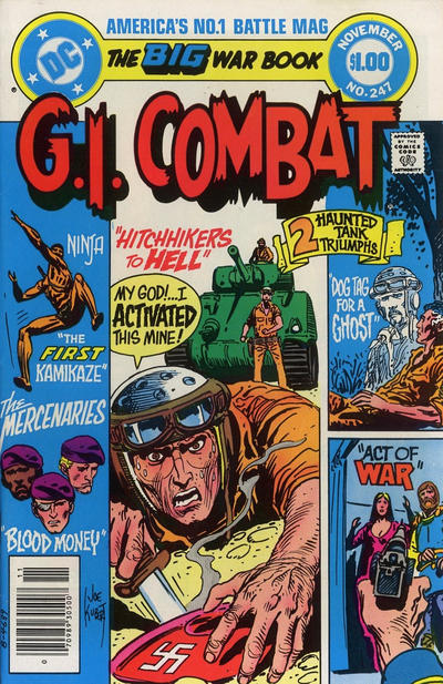 Cover for G.I. Combat (DC, 1957 series) #247 [Direct Sales]