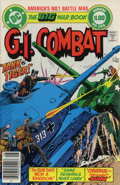 Cover for G.I. Combat (DC, 1957 series) #256 [Direct-Sales]