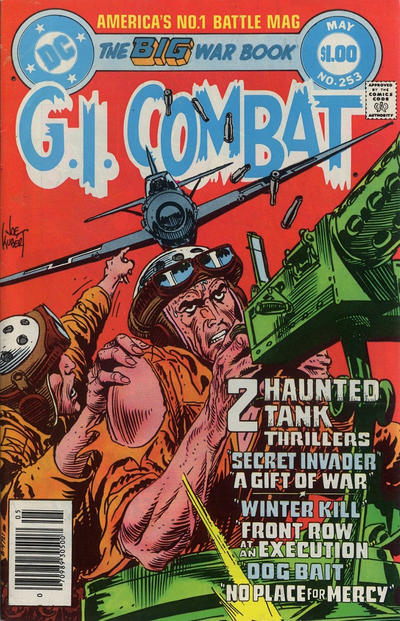 Cover for G.I. Combat (DC, 1957 series) #253 [Direct-Sales]