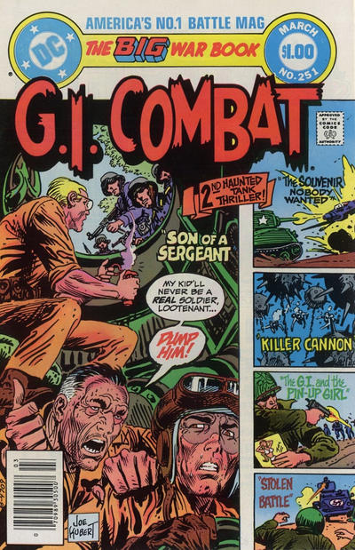 Cover for G.I. Combat (DC, 1957 series) #251 [Direct-Sales]