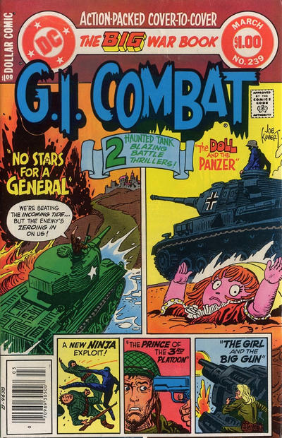Cover for G.I. Combat (DC, 1957 series) #239 [Direct]