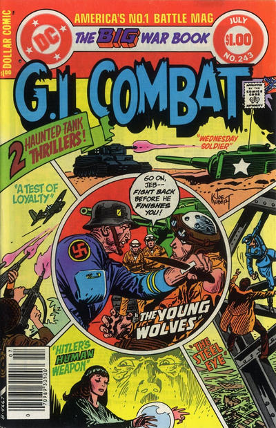 Cover for G.I. Combat (DC, 1957 series) #243 [Direct Sales]
