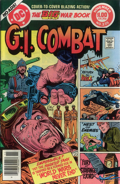 Cover for G.I. Combat (DC, 1957 series) #235