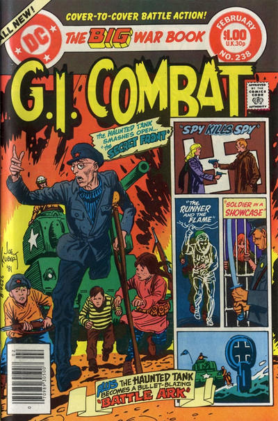 Cover for G.I. Combat (DC, 1957 series) #238 [Direct Sales]