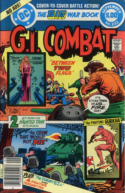 Cover for G.I. Combat (DC, 1957 series) #233