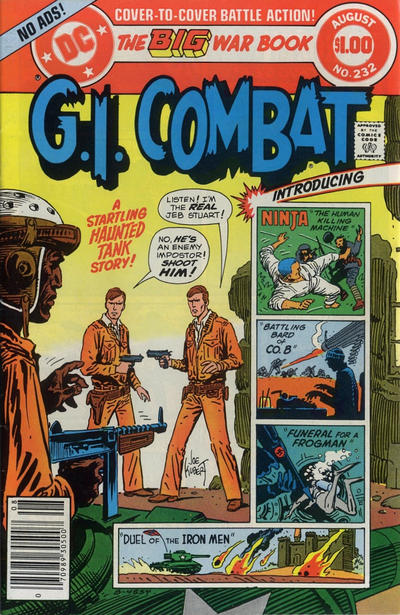 Cover for G.I. Combat (DC, 1957 series) #232 [Direct Sales]