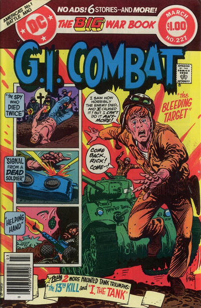 Cover for G.I. Combat (DC, 1957 series) #227