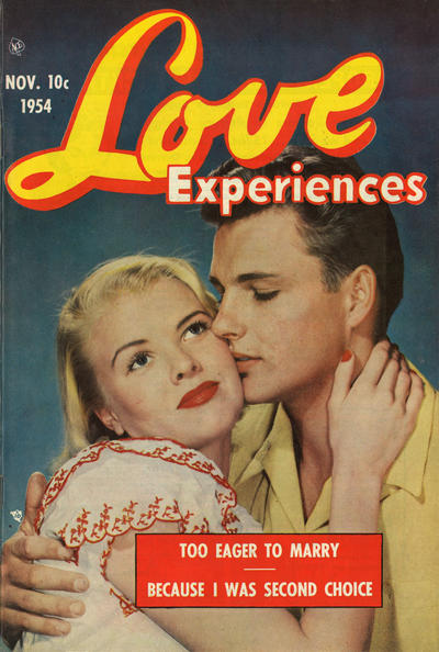 Cover for Love Experiences (Ace Magazines, 1951 series) #28