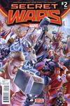 Cover for Secret Wars (Marvel, 2015 series) #2