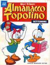 Cover for Almanacco Topolino (Arnoldo Mondadori Editore, 1957 series) #33