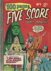 Cover for Five-Score Comic Monthly (K. G. Murray, 1958 series) #1