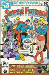 Cover Thumbnail for Super Friends (DC, 1976 series) #37 [Direct]