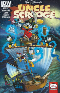 Cover for Uncle Scrooge (IDW, 2015 series) #2 [Subscription Variant]