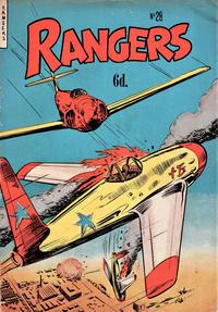 Cover Thumbnail for Rangers Comics (H. John Edwards, 1950 ? series) #28