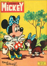 Cover Thumbnail for Le Journal de Mickey (Hachette, 1952 series) #472