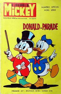 Cover Thumbnail for Le Journal de Mickey Numéro Spécial Hors Série (Hachette, 1966 series) #735 - Donald-Parade