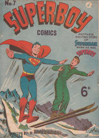 Cover Thumbnail for Superboy (K. G. Murray, 1949 series) #7