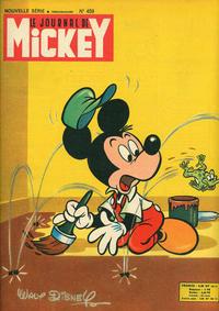 Cover Thumbnail for Le Journal de Mickey (Hachette, 1952 series) #459
