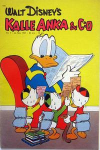 Cover Thumbnail for Kalle Anka & C:o (Richters Förlag AB, 1948 series) #7/1957