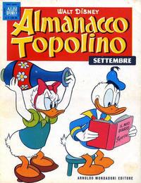 Cover Thumbnail for Almanacco Topolino (Arnoldo Mondadori Editore, 1957 series) #33