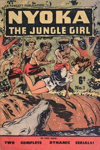 Cover Thumbnail for Nyoka the Jungle Girl (Cleland, 1949 series) #1