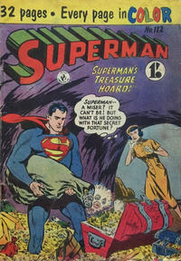 Cover Thumbnail for Superman (K. G. Murray, 1947 series) #112