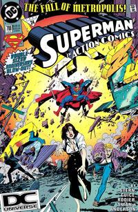 Cover Thumbnail for Action Comics (DC, 1938 series) #700 [DC Universe Cornerbox]