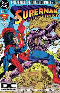 Cover Thumbnail for Action Comics (DC, 1938 series) #701 [DC Universe Cornerbox]