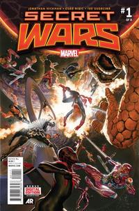Cover Thumbnail for Secret Wars (Marvel, 2015 series) #1