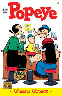 Cover Thumbnail for Classic Popeye (IDW, 2012 series) #34