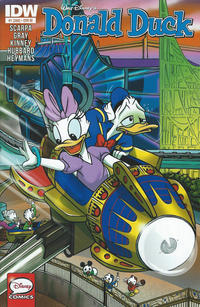 Cover Thumbnail for Donald Duck (IDW, 2015 series) #1 / 368 [1:25 Retailer Incentive Variant]
