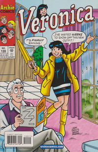 Cover Thumbnail for Veronica (Archie, 1989 series) #120 [Direct Edition]