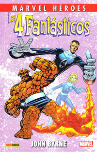 Cover Thumbnail for Marvel Héroes (Panini España, 2012 series) #60 - Los 4 Fantásticos de John Byrne 2