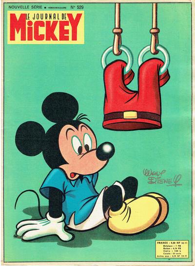 Cover for Le Journal de Mickey (Hachette, 1952 series) #529