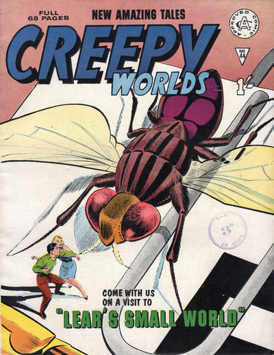 Cover for Creepy Worlds (Alan Class, 1962 series) #44