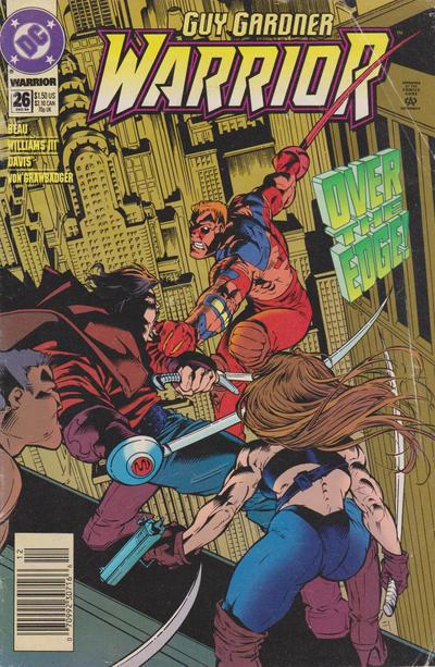 Cover for Guy Gardner: Warrior (DC, 1994 series) #26