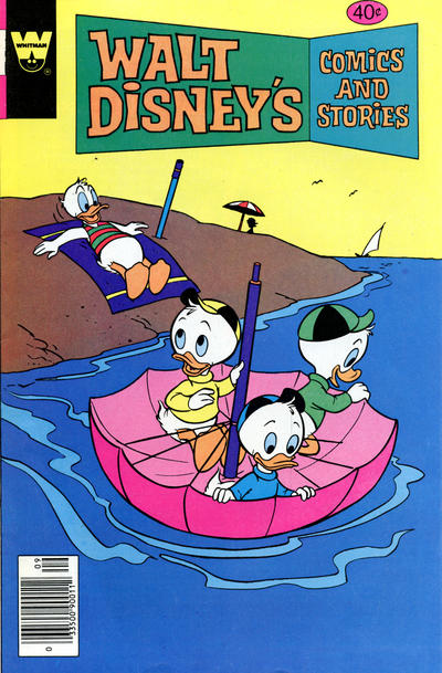 Cover for Walt Disney's Comics and Stories (Western, 1962 series) #v39#12 / 468 [Gold Key]