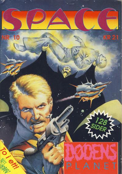 Cover for Space (Serieforlaget / Se-Bladene / Stabenfeldt, 1988 series) #10