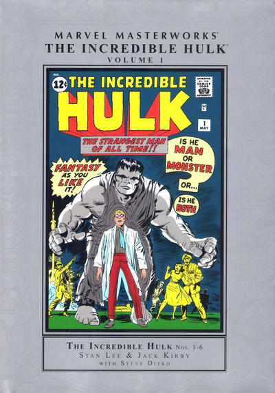 Cover for Marvel Masterworks: The Incredible Hulk (Marvel, 2003 series) #1 [Third Edition 2015]
