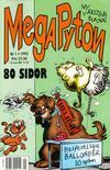 Cover for Mega Pyton (Atlantic Förlags AB, 1992 series) #1/1992