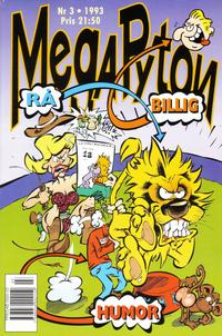Cover Thumbnail for Mega Pyton (Atlantic Förlags AB, 1992 series) #3/1993