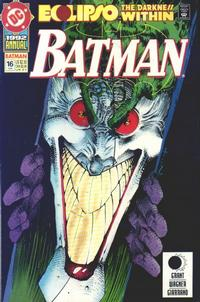 Cover Thumbnail for Batman Annual (DC, 1961 series) #16 [Direct Edition]