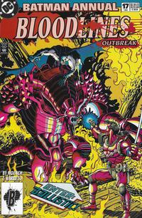 Cover Thumbnail for Batman Annual (DC, 1961 series) #17 [Direct Edition]