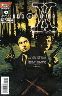 Cover Thumbnail for The X-Files (Topps, 1995 series) #0 [Regular Cover]