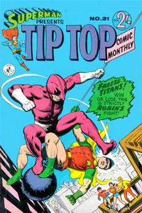 Cover Thumbnail for Superman Presents Tip Top Comic Monthly (K. G. Murray, 1965 series) #21