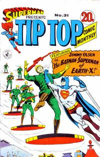 Cover Thumbnail for Superman Presents Tip Top Comic Monthly (K. G. Murray, 1965 series) #31