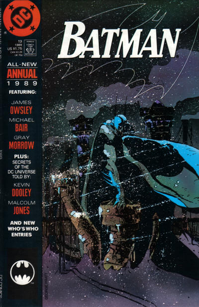 Cover for Batman Annual (DC, 1961 series) #13 [Direct Edition]