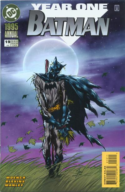 Cover for Batman Annual (DC, 1961 series) #19 [Direct Edition]