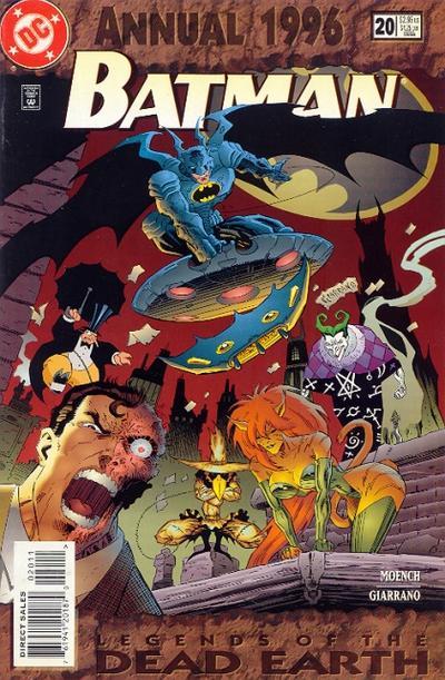 Cover for Batman Annual (DC, 1961 series) #20
